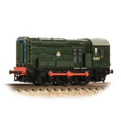 Class 08 13287 BR Green (Early Emblem)