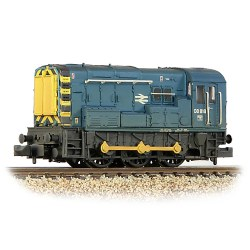 Class 08 08818 BR Blue - Weathered