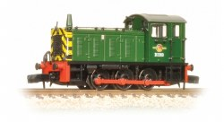 Class 04 D2283 BR Green Warning Stripes
