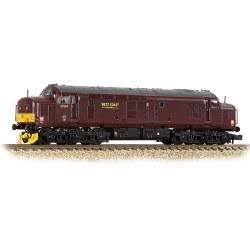Class 37/5 Refurbished 37669 WCRC Maroon