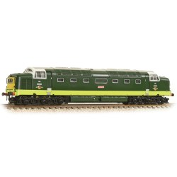 Class 55 D9009 'Alycidon' BR Two-Tone Green Small Yellow Panel