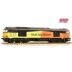 Class 60 60096 Colas Rail Freight - Sound Fitted