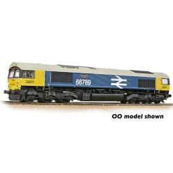 Class 66/7 66789 'British Rail 1948-1997' GBRf BR Blue (Large Logo)