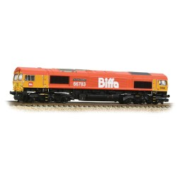 Class 66/7 66783 'The Flying Dustman' GBRf Biffa Red