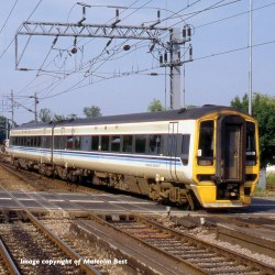 Class 158 2 Car DMU 158849 Regional Railways