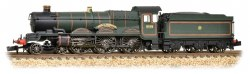 Castle Class 5044 Earl of Dunraven GWR Lined Green