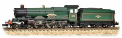 Castle Class 5070  Sir Daniel Gooch BR Lined Green Late Crest