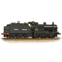 MR 3835 4F with Fowler Tender 43892 BR Black (British Railways)