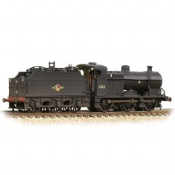 MR 3835 4F with Fowler Tender 43931 BR Black (Late Crest)  - Weathered