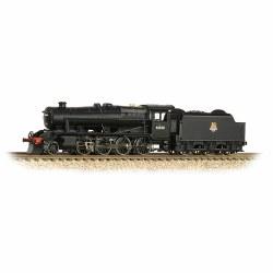 LMS Stanier Class 8F 2-8-0 48608 BR Black Early Emblem
