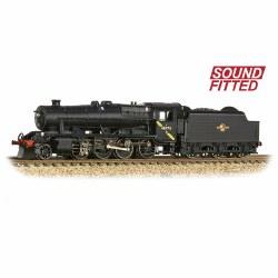 LMS Stanier Class 8F 2-8-0 48773 BR Black Late Crest DCC Sound