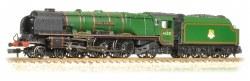"Princess Coronation Class 46221 "" Queen Elizabeth"" BR Green Early Emblem"