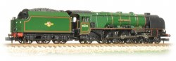 "Princess Coronation Class 46241 ""City of Edinburgh"" BR Green Late Crest"