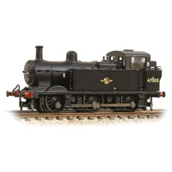 Class 3F (Jinty) 47500 BR Black Late Crest