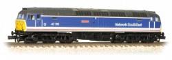 Class 47/7 47715 'Haymarket' BR Network SouthEast