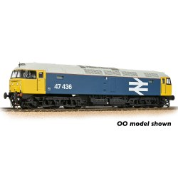 Class 47/4 47436 BR Blue (Large Logo)