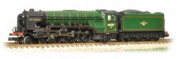 Class A2 60527 Sun Chariot BR Lined Green Late Crest