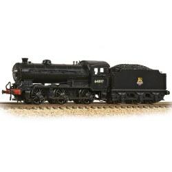 LNER J39 with Group Standard 4200 Gallon Tender 64897 BR Black (Early Emblem)