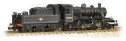 Ivatt Class 2MT 2-6-0 46443 BR Lined Black Late Crest