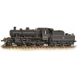 Ivatt Class 2MT 2-6-0 46460 BR Early Emblem Weathered