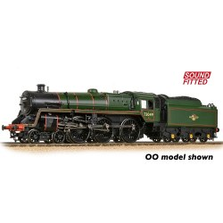 BR Standard 5MT with BR1 Tender 73049 BR Lined Green (Late Crest) - Sound Fitted