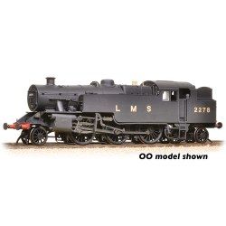 LMS Fairburn Tank 2278 LMS Black (Revised) - Weathered