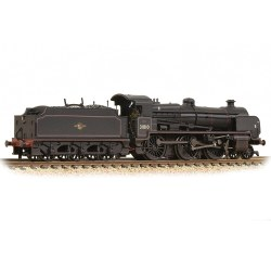 N Class 2-6-0 31810 BR Black Late Crest Weathered