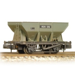 24T Iron Ore Hopper BR Grey (Early) - Weathered