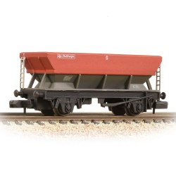 BR HEA Hopper BR Railfreight Red & Grey - Weathered