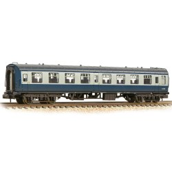 BR Mk1 TSO Tourist Second Open BR Blue & Grey - Weathered