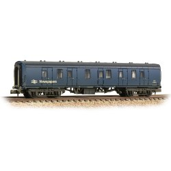 BR Mk1 BG Brake Gangwayed BR Blue (Newspapers) - Weathered