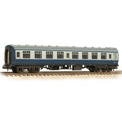 BR Mk1 SK Second Corridor BR Blue & Grey - Weathered