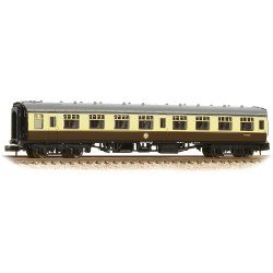 BR Mk1 SK Second Corridor Chocolate & Cream