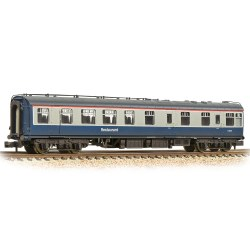 BR Mk1 RU Restaurant Unclassified BR Blue & Grey - Weathered