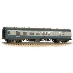 BR Mk1 BSK Brake Second Corridor BR Blue & Grey with ScotRail Branding Weathered