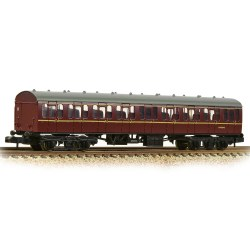 BR Mk1 57ft 'Suburban' SO Second Open BR Maroon