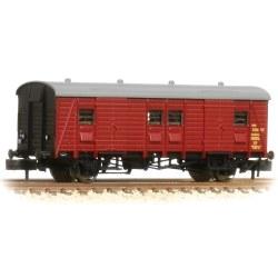 Southern PL Passenger Luggage Van BR Crimson