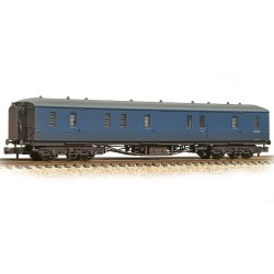 GWR Hawksworth Full Brake BR Blue - Weathered