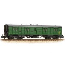 SR 50' Bogie B Luggage Van BR (SR) Green