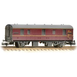 BR MK 1 CCT BR Lined Maroon Weathered