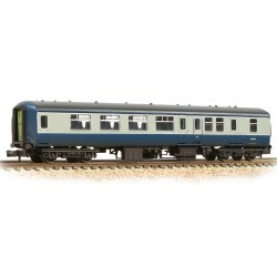 BR Mk2A BSO Brake Second Open BR Blue & Grey - Weathered