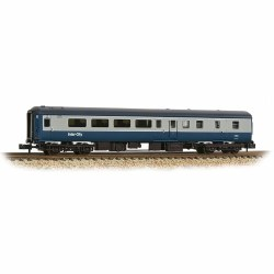 BR Mk2F BSO 2nd Class Brake Open Coach Blue and Grey