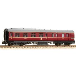 Stanier Brake Third LMS Crimson Lake