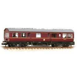 LMS 50ft Inspection Saloon BR Maroon