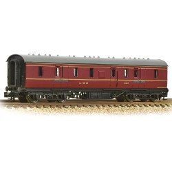 LMS Stanier 50ft Full Brake LMS Crimson Lake