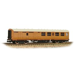 Thompson 3rd Class Brake Corridor LNER Teak