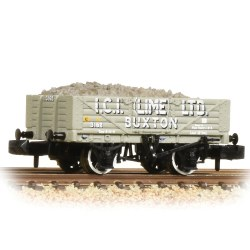 5 Plank Wagon with Steel Floor ICI Lime - with Wagon Load
