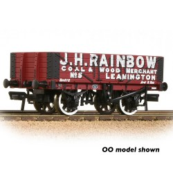 5 Plank Wagon Wooden Floor 'J. H. Rainbow' Red