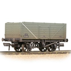 7 Plank Wagon End Door BR Grey (Early) - Weathered