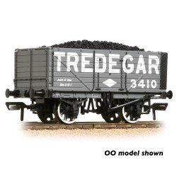 7 Plank Wagon End Door 'Tredegar' Grey - Includes Wagon Load